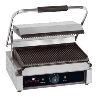 Panini(contact)grill CaterChef 1-plaats 410 x 400 x 210 mm